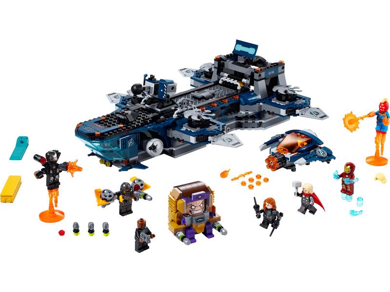 LEGO Super Heroes - Helicarrier Avengerů
