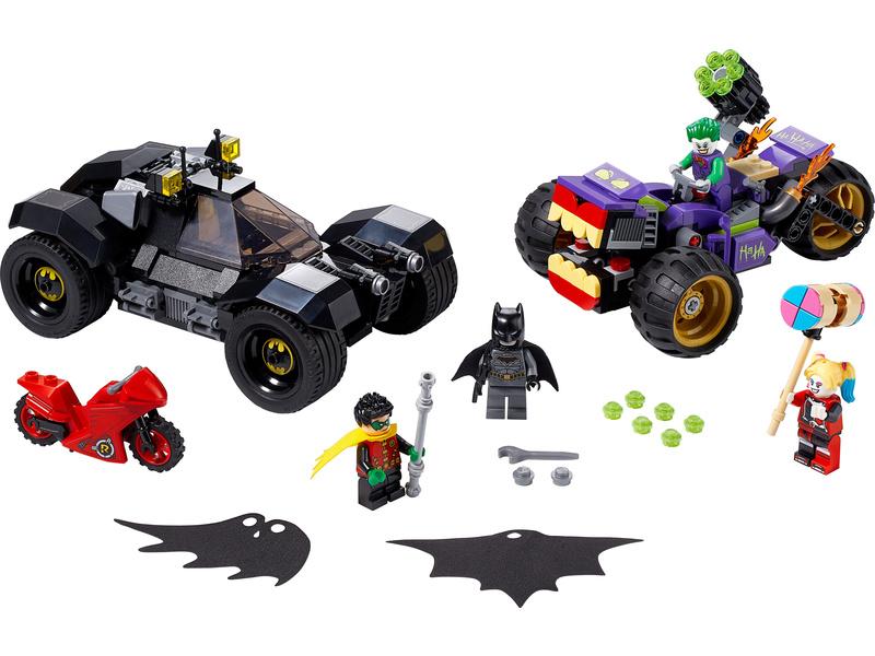 LEGO Super Heroes - Pronásledování Jokera na tříkolce