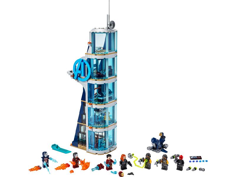 LEGO Super Heroes - Boj ve věži Avengerů
