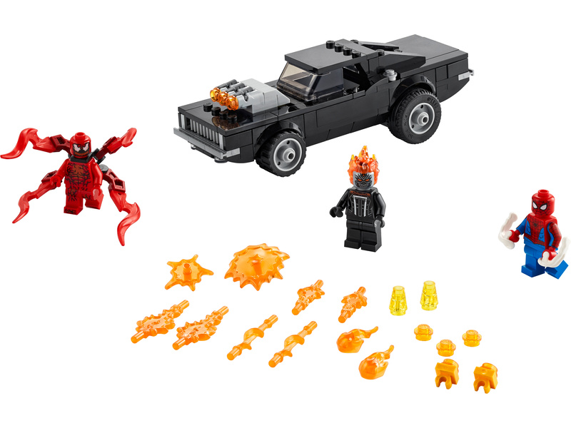 LEGO Super Heroes - Spider-Man a Ghost Rider vs. Carnage