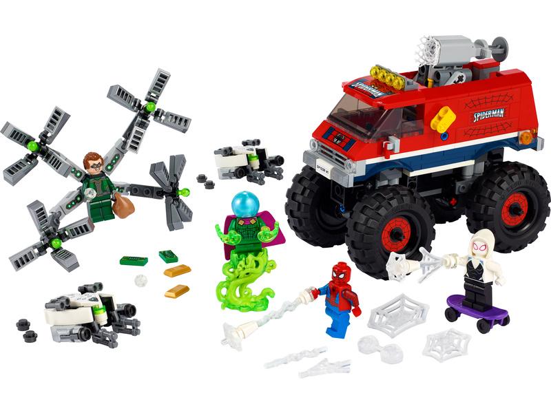 LEGO Super Heroes - Spider-Man v monster trucku vs. Mysterio