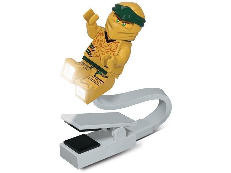 LEGO lampička na čtení Ninjago Legacy Zlatý Ninja