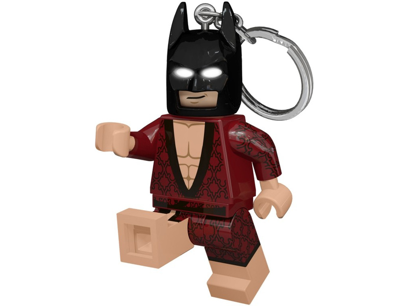 LEGO svítící klíčenka - Batman Movie Kimono Batman