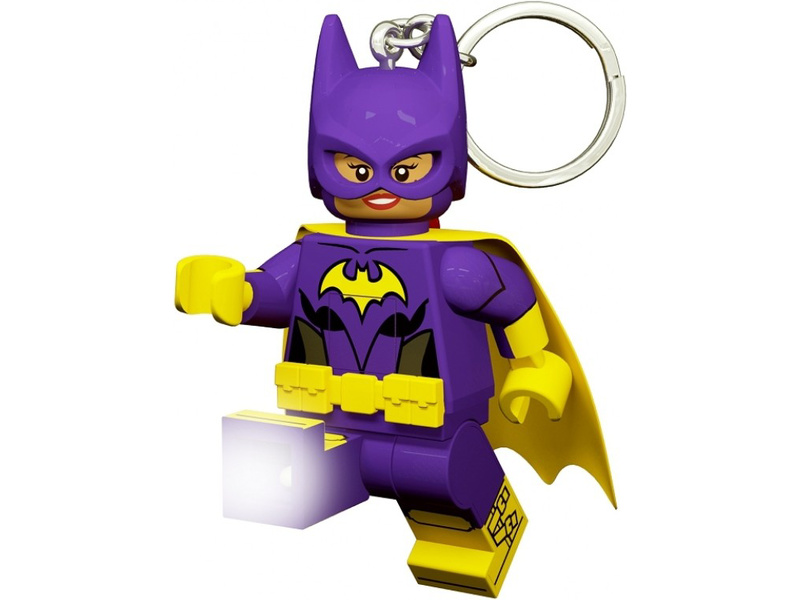 LEGO svítící klíčenka - Batman Movie Batgirl