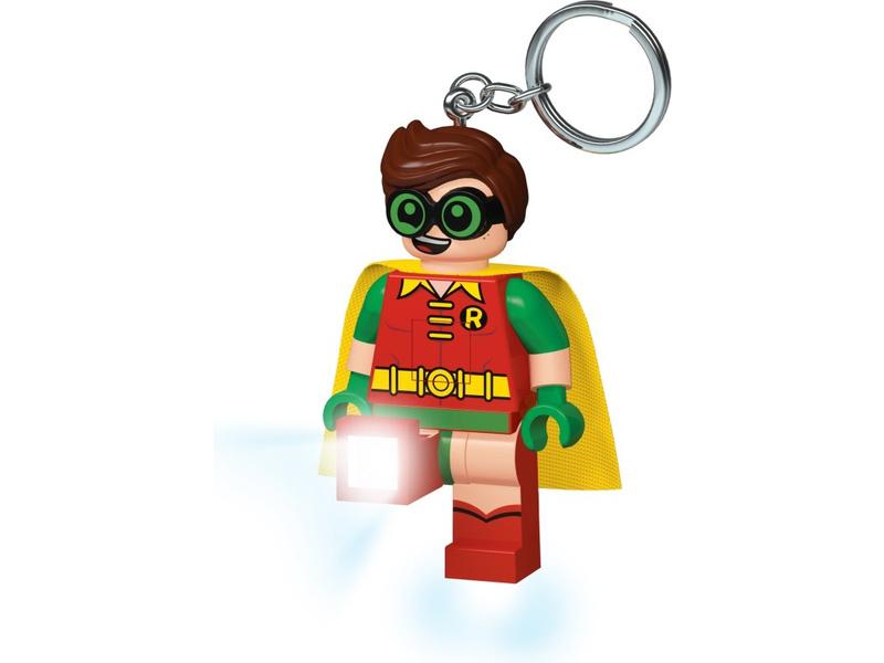 LEGO svítící klíčenka - Batman Movie Robin