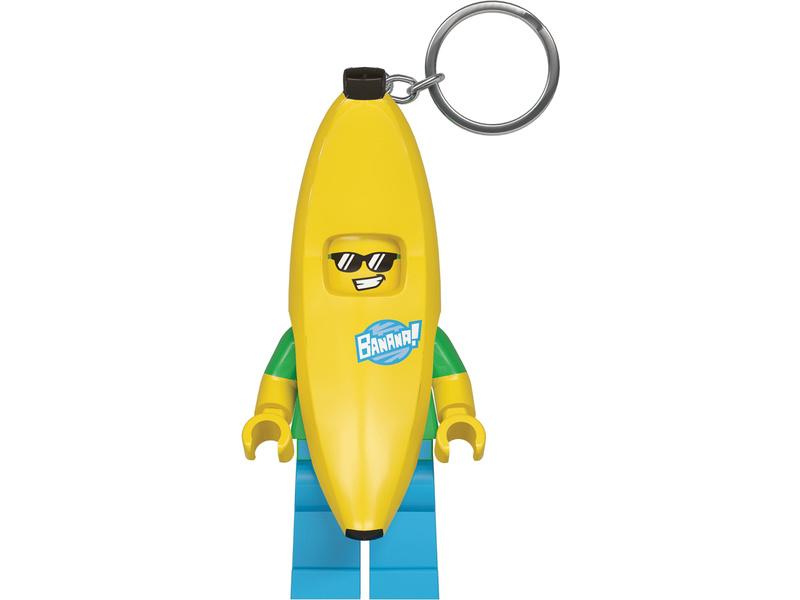 LEGO svítící klíčenka - Banana Guy
