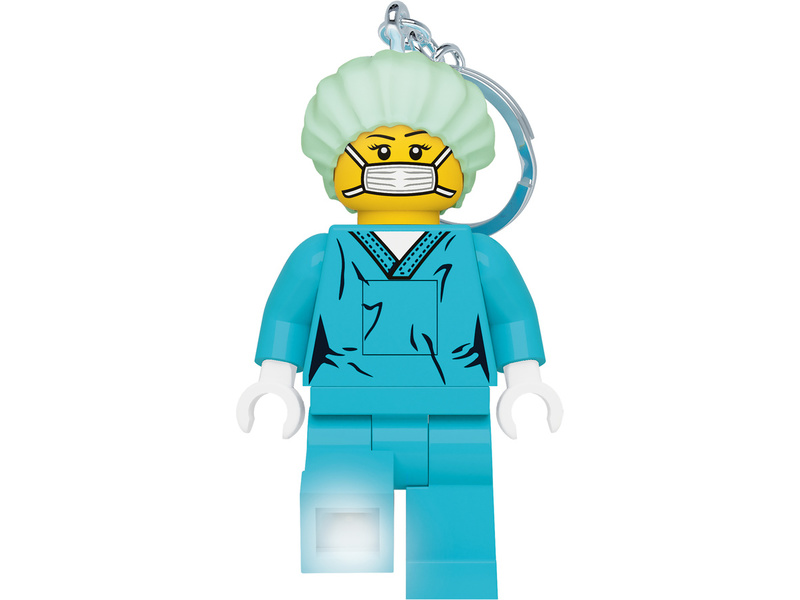 LEGO svítící klíčenka - Chirurg