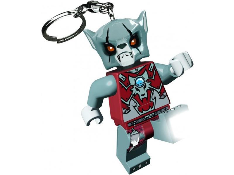 LEGO svítící klíčenka - Chima Worriz