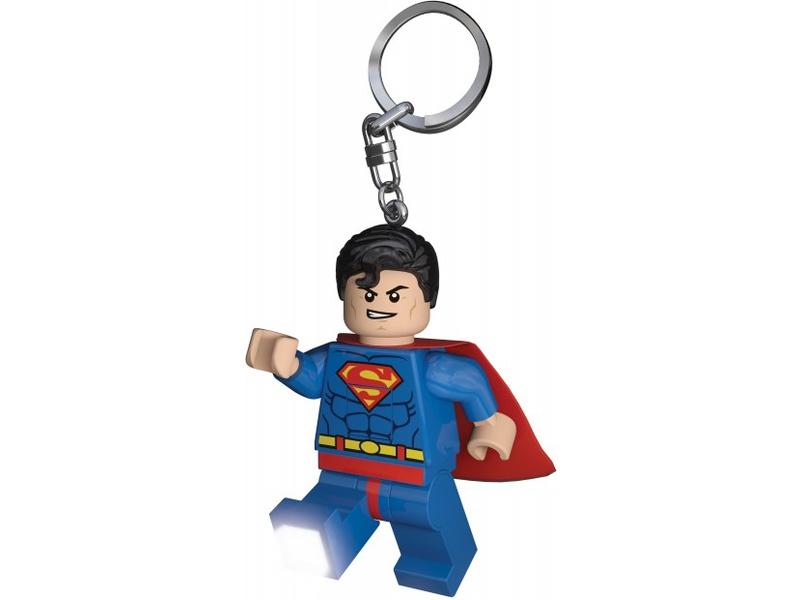 LEGO svítící klíčenka - Super Heroes Superman