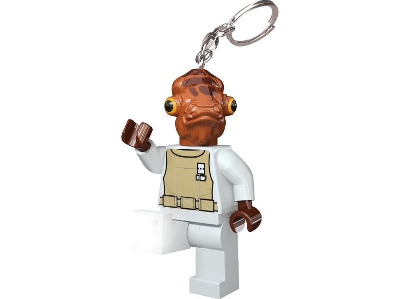 LEGO svítící klíčenka - Star Wars Admirál Ackbar