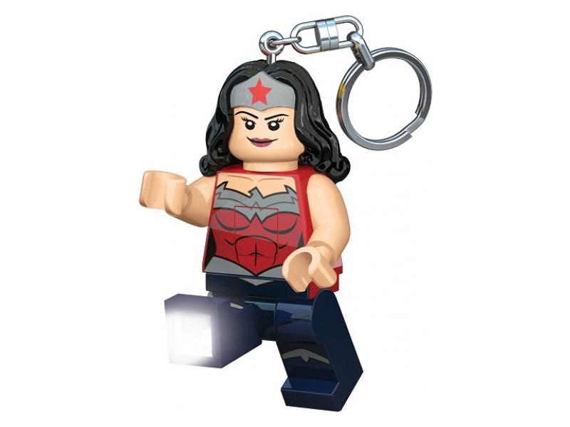 LEGO svítící klíčenka - Super Heroes Wonder Woman