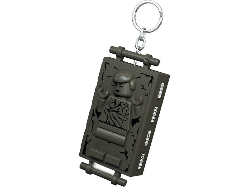 LEGO svítící klíčenka - Star Wars Han Solo Carbonite