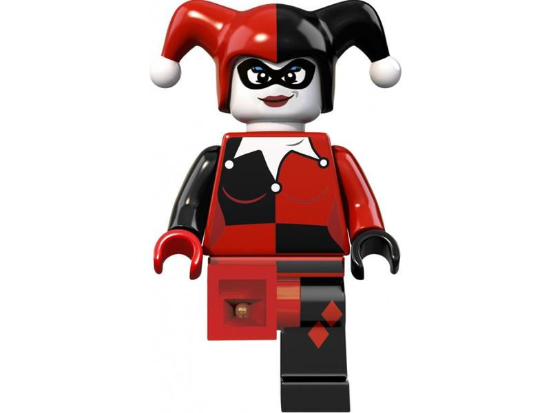 LEGO svítící klíčenka - Super Heroes Harley Quinn