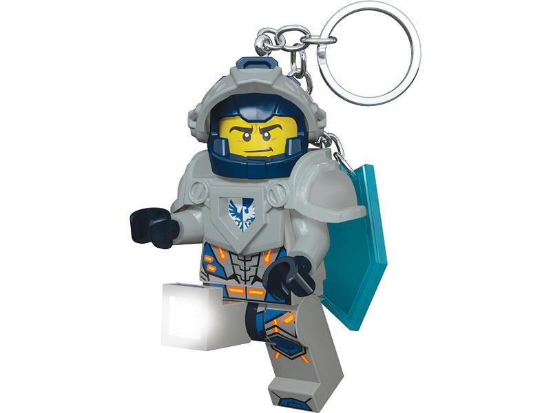 LEGO svítící klíčenka - Nexo Knights Clay