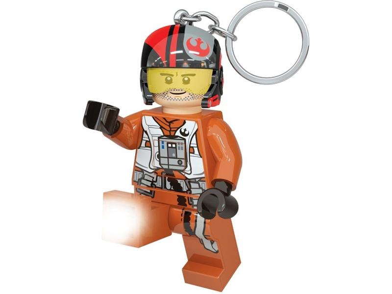 LEGO svítící klíčenka - Star Wars Poe Dameron