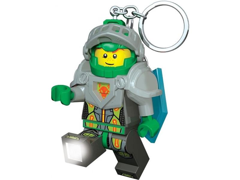 LEGO svítící klíčenka - Nexo Knights Aaron