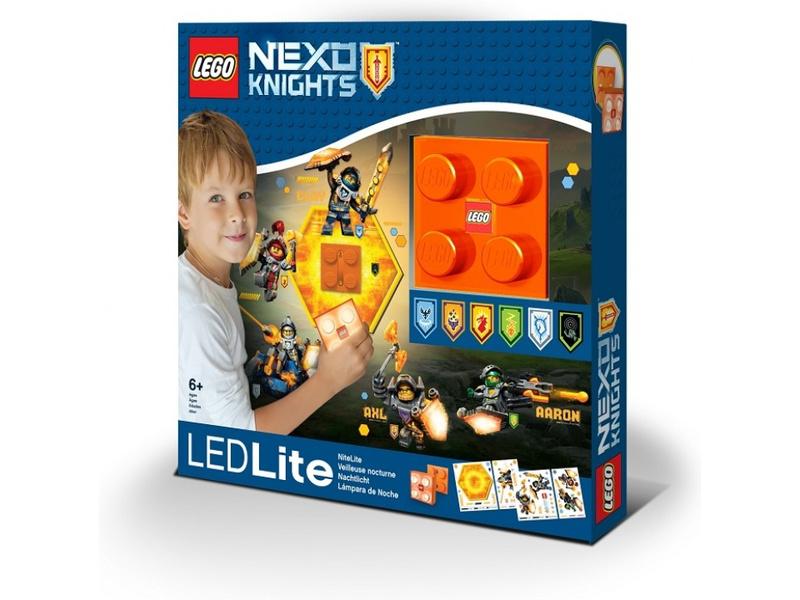 LEGO noční světlo - Nexo Knights