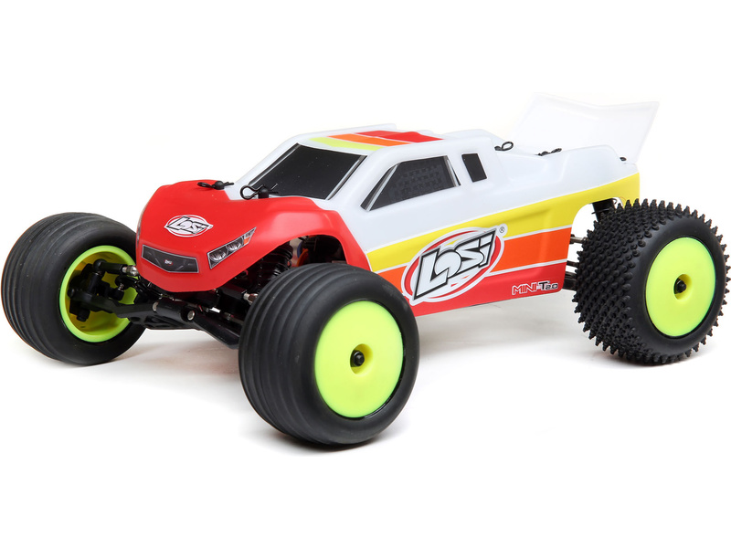 Losi Mini-T 2.0 Brushless 1:18 RTR červená