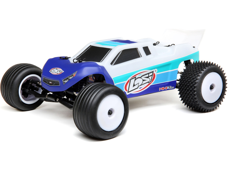 Losi Mini-T 2.0 Brushless 1:18 RTR modrá