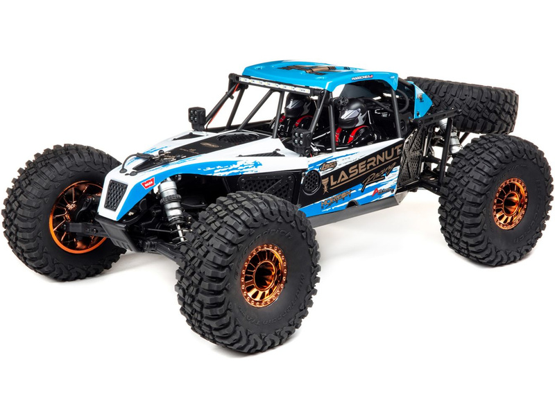 Losi Lasernut U4 1:10 4WD Smart RTR modrý