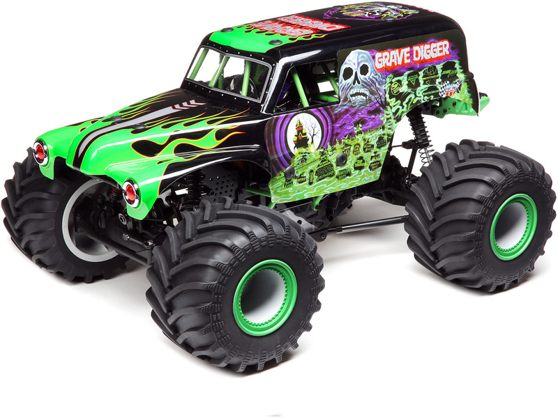 Losi LMT Monster Truck 1:8 4WD RTR Grave Digger