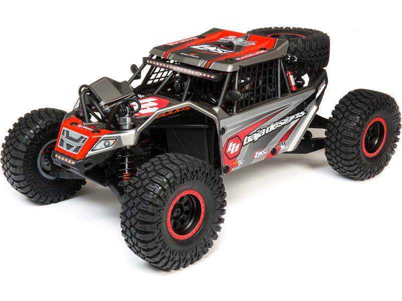 1:6 Losi Super Rock Rey V2 4WD RTR (šedý)