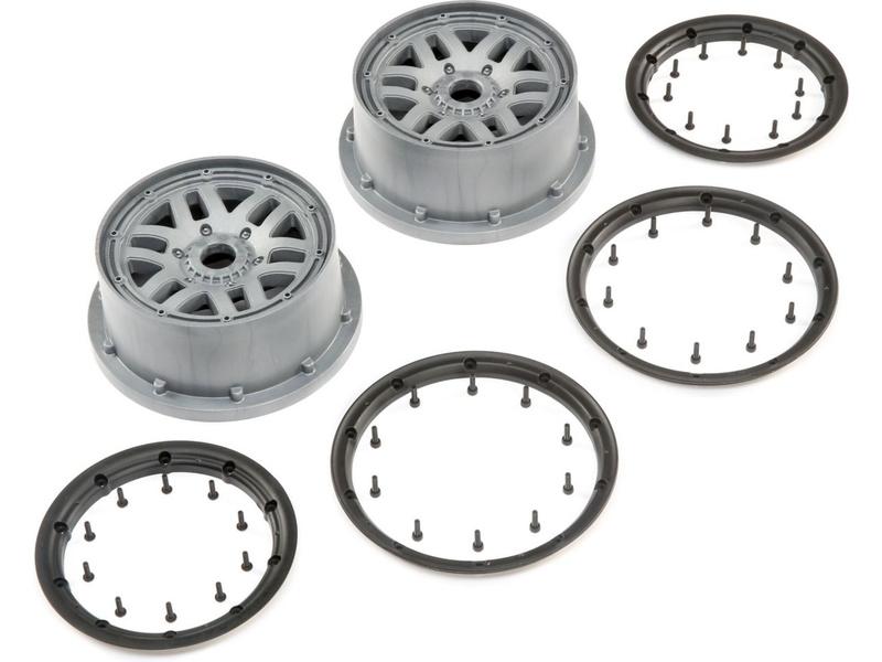 Losi disk kola, beadlock šedý (2): 5ive-T 2.0