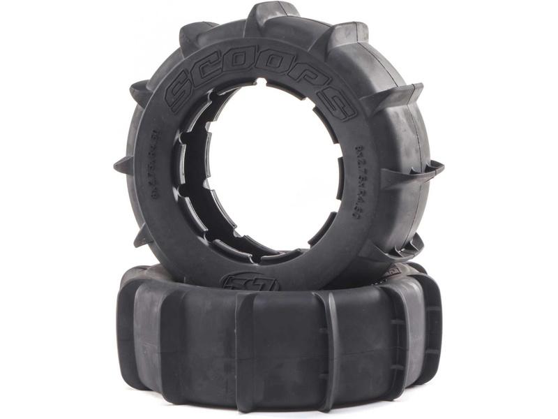Losi pneu Scoops Paddle (2): DBXL-E 2.0