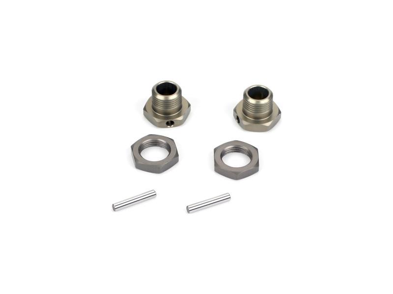 Losi náboj kola s maticí eloxovaný hliník (2): 8X
