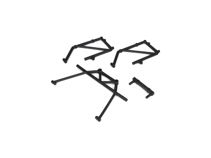 Losi držáky zadní části ochranného rámu (4): 5ive-T