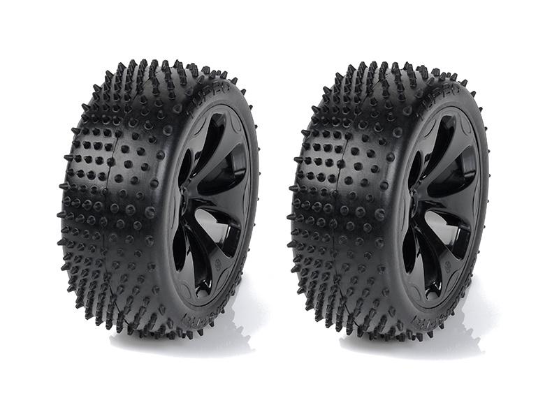 """Medial Pro kolo 3.3"""" SC Raptor H12/22mm, pneu Turbo M3 (pár)"""
