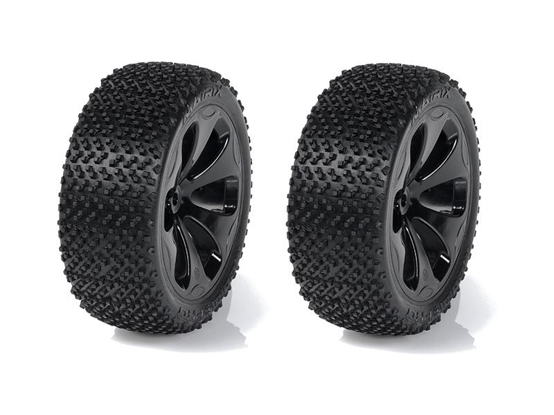 "Medial Pro kolo 3.3"" SC Raptor H12/22mm, pneu Matrix M4 (pár)"