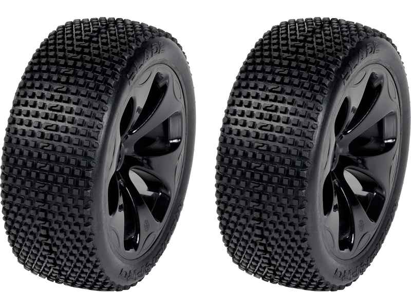 "Medial Pro kolo 3.3"" SC Raptor H12/24mm, pneu Blade M3 (pár)"