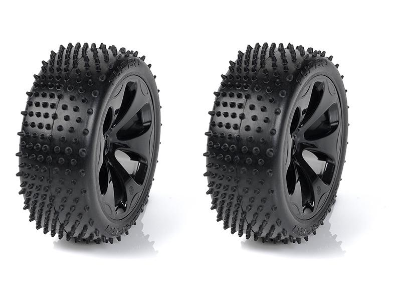 """Medial Pro kolo 3.3"""" SC Raptor H12/24mm, pneu Turbo M4 (pár)"""