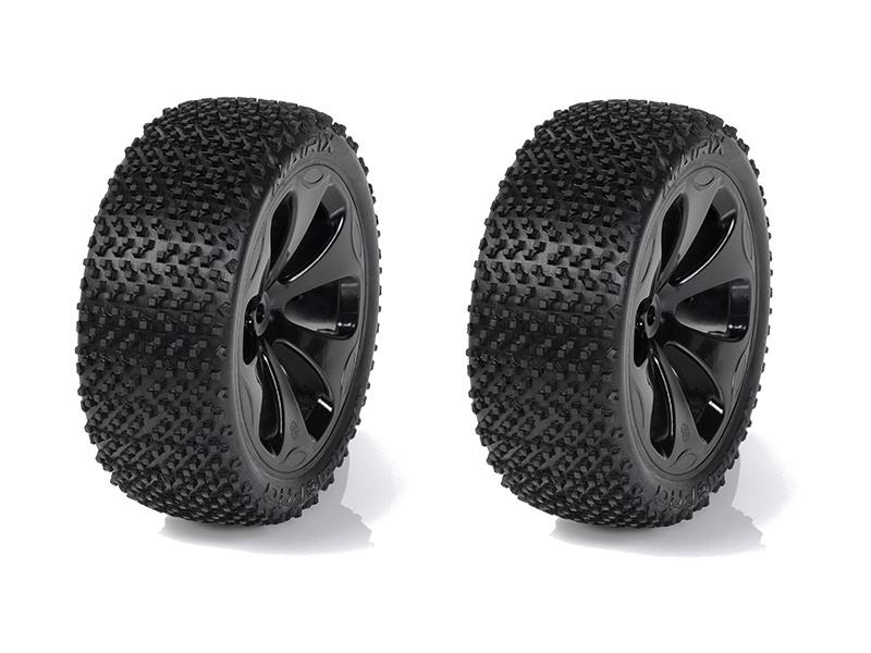 "Medial Pro kolo 3.3"" SC Raptor H12/24mm, pneu Matrix M4 (pár)"