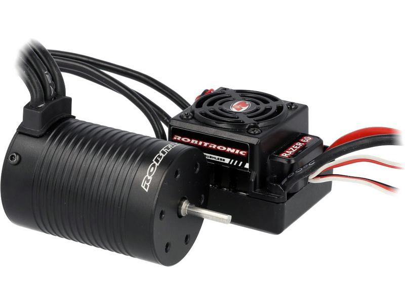 Robitronic střídavý motor Razer 3652 3250ot/V, regulátor 60A