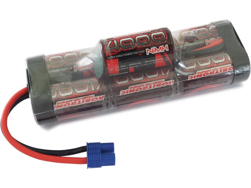 Robitronic NiMH baterie 8.4V 4000mAh vysoká EC3