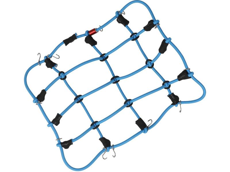 Robitronic poutací síť z háčky 15x12cm modrá