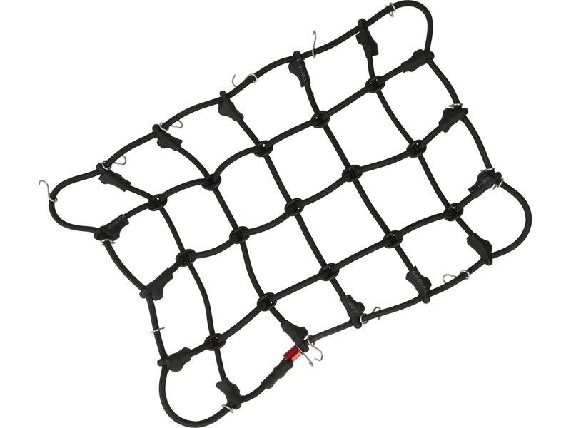 Robitronic poutací síť s háčky 19x12cm černá