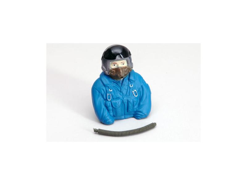 Pilot 1:6 Jet modrý