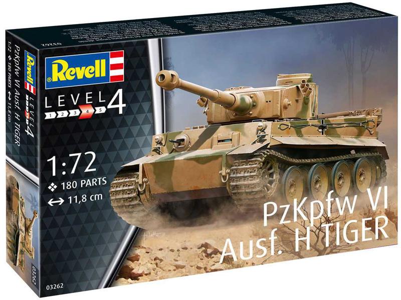 Revell PzKpfw VI Ausf. H Tiger (1:72)