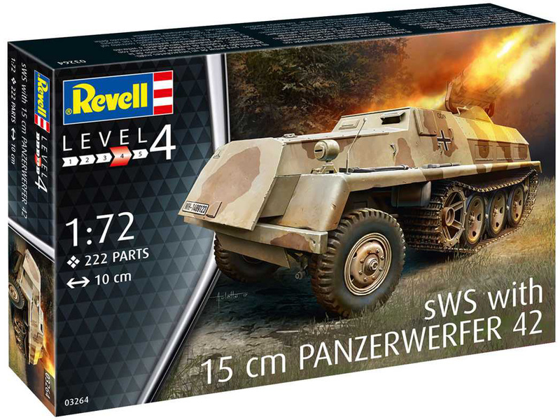 Revell sWS with 15cm Panzerwerfer 42 (1:72)