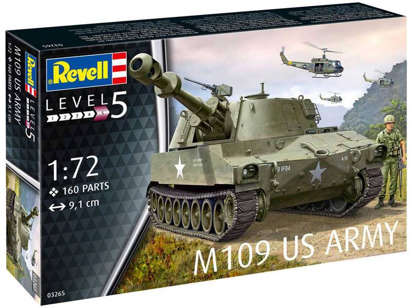 Revell M109 US Army (1:72)