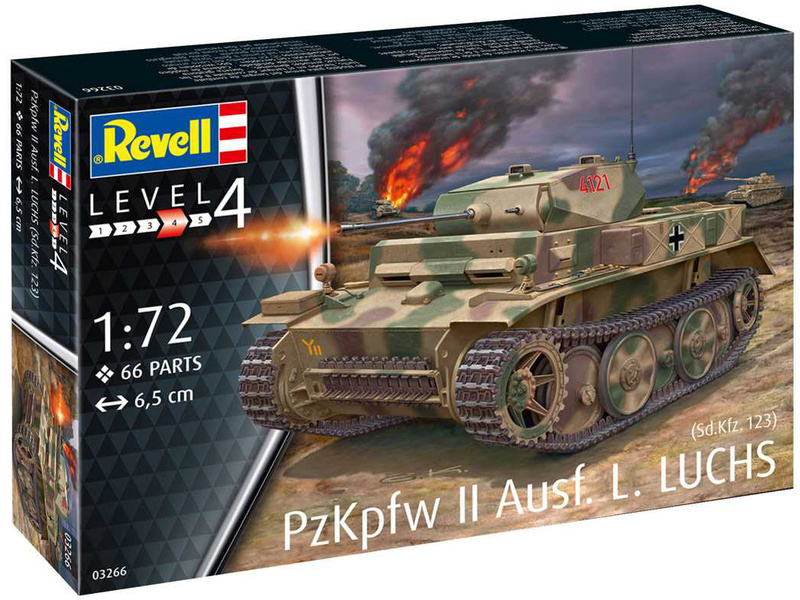 Revell PzKpfw II Ausf.L Luchs (Sd.Kfz.123) (1:72)