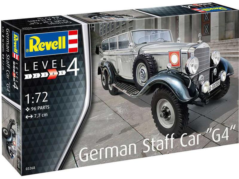 Revell figurky - německá osádka auta G4 (1:72)