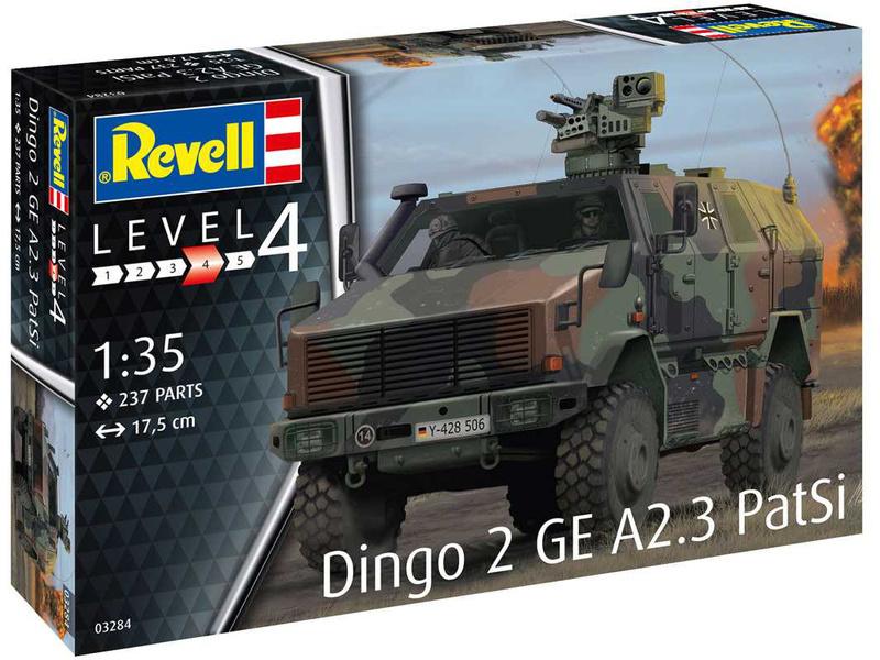 Revell Dingo 2 GE A2.3 PatSi (1:35)