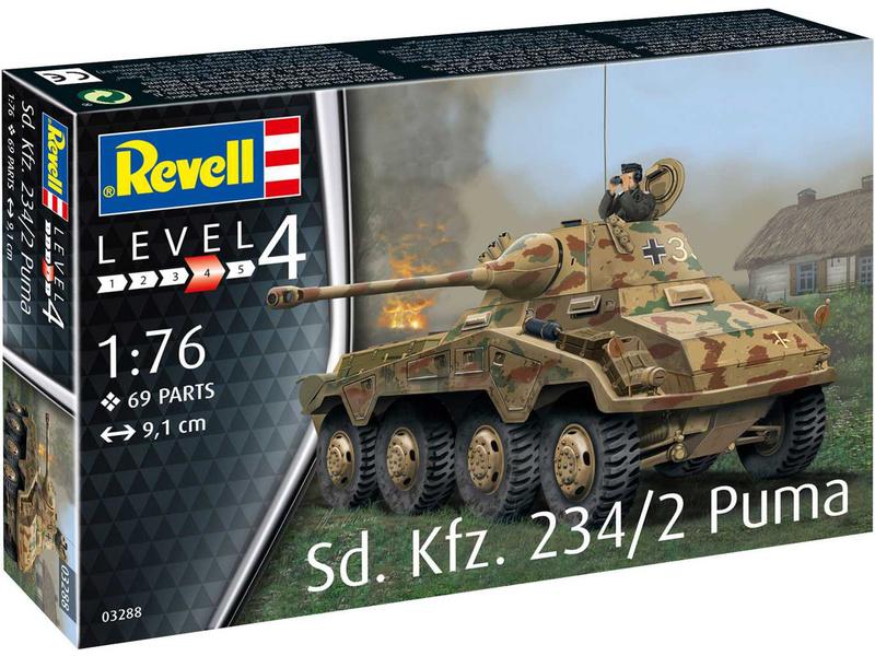 Revell Sd.Kfz. 234/2 Puma (1:76)