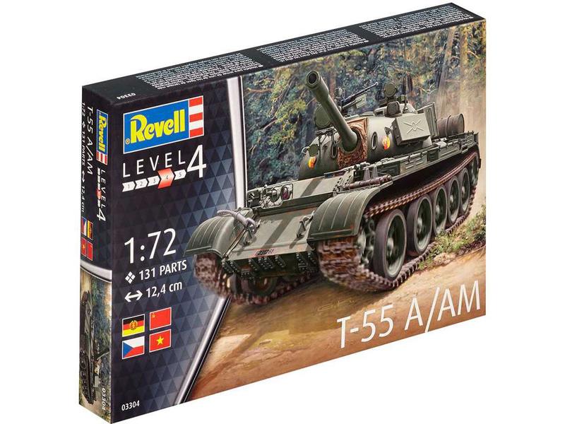 Revell tank T-55A/AM (1:72)