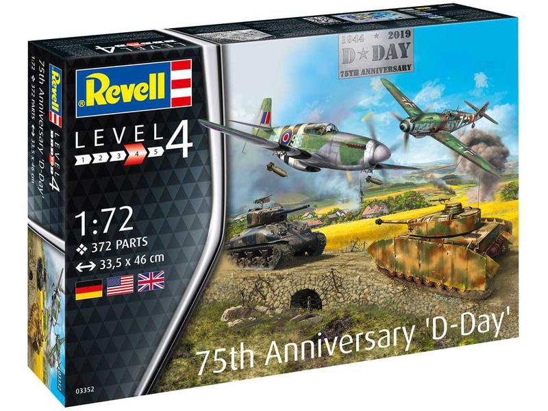 Revell Gift-Set Den D 75. výročí (1:72)