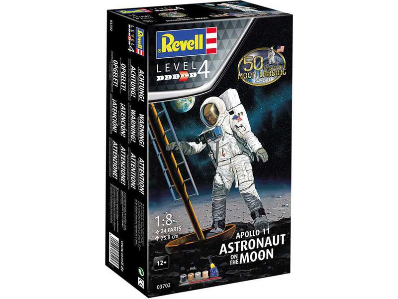Revell Apollo 11 - Astronauti na Měsíci (1:8) (Giftset)